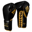 TITLE Boxing Roberto Duran Leather Sparring Gloves
