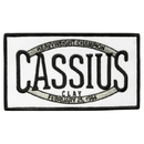 Muhammad Ali Cassius Clay Champion of the World Boxing Trunks Patch
