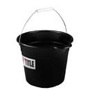 TITLE Boxing CB2 Corner Spit Bucket 9 Qt Black