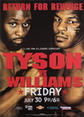 TITLE Boxing FPOST123 Tyson vs Williams Poster