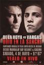 TITLE Boxing FPOST25 De La Hoya vs Vargas Poster (Spanish)