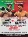 TITLE Boxing FPOST35 Duddy vs Campas Poster