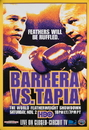 TITLE Boxing FPOST5 Barrera vs Tapia Poster