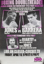 TITLE Boxing FPOST61 Jones vs Barrera Poster