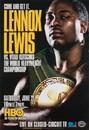 TITLE Boxing FPOST73 Lewis vs Klitschko Poster