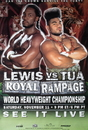 TITLE Boxing FPOST76 Lewis vs TUA Poster