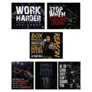 TITLE Boxing Gym Motivational Fight Posters