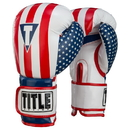 TITLE Boxing HIFUTG Infused Foam Combat Usa Training Gloves