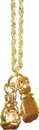 TITLE Boxing NL 2 GD Gold Gloves Necklace