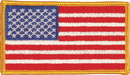 TITLE Boxing P 1 Usa Flag Patch