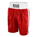 TITLE Classic TBTC Edge Satin Boxing Trunks