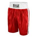TITLE Classic TBTC Edge Satin Boxing Trunks