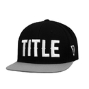 TITLE Boxing TCAP65 BK Fighting Flatbill Fitted Cap
