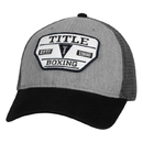 TITLE Boxing Heathered Adjustable Mesh Cap