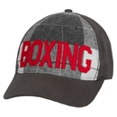 TITLE Boxing Plaid Adjustable Cap