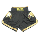 TopTie Muay Thai Boxing Shorts Black With The Eagle Design