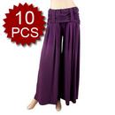 Wholesale Lot Of 10 Lycra Cotton Harem Pants