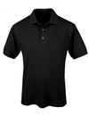Tri-Mountain 096 Element Ltd Men's 6 oz. 60% cotton 40% polyester short sleeve pique easy care golf shirt, Embroidery
