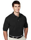 Tri-Mountain 106 Image Men's 60/40 pique pocketed golf shirt, Embroidery