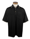 Tri-Mountain 117 Conquest Men's 60/40 UltraCool mesh pocketed golf shirt, Embroidery