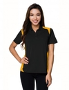 Tri-Mountain 143 Lady Blitz Women's 100% Polyester UC Knit Polo Shirt