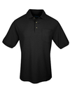 Tri-Mountain 169 Signature Ltd Men's cotton pique pocketed golf shirt