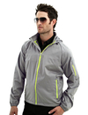 TMR 1730 CF-I Men's 100% Polyester Rib Stop water resistant long sleeve hoodly jacket