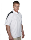 Tri-Mountain 207 Avenger Men's 100% Polyester Knit Polo Shirt, Raglan Sleeve w/ Shoulder Contrast, Embroidery