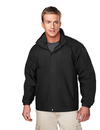 Tri-Mountain 2100 Meridian Men's ripstop nylon jacket with mesh lining