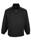 Tri-Mountain 2650 Parkview Windproof/water resistant 1/4 zip long sleeve windshirt