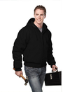 Tri-Mountain 4600 Timberline Cotton canvas hooded work jacket with quilted lining