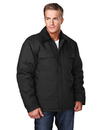 Tri-Mountain 4900 Canyon Cotton canvas work jacket with quilted lining