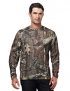 Tri-Mountain 622C Force Camo Polyester mesh long sleeve shirt with Realtree AP & UltraCool