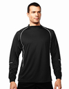 Tri-Mountain 623 Thunderbolt Men's 100% Polyester LS Knit Crewneck long sleeve shirt