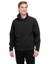 Tri-Mountain 6825 Rockford Poly stretch bonded soft shell jacket with sherpa fleece lining