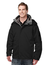 Tri-Mountain 6850 Washington Poly bonded soft shell 3-in-1 jacket, Embroidery