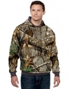 Tri-Mountain 689C Perspective Camo 80/20 hooded sweatshirt with Realtree AP pattern