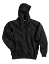 Tri-Mountain 690 Prospect Cotton/poly sueded finish hooded full zip sweatshirt