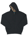 Tri-Mountain 697 Marshall Men 60/40 thermal full zip hooded sweatshirt with sherpa fleece lining
