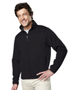 Tri-Mountain 7350 Contender Men's polyknit fleece full zip jacket, Embroidery