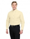 Tri-Mountain 750 Techno Men's 60/40 stain resistant long sleeve oxford shirt