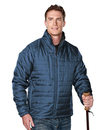 Tri-Mountain 8255 Brooklyn Men's 100% Polyester Rib- stop long sleeve quilt jacket with water resistent