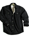 Tri-Mountain 869 Tahoe Denim shirt jacket with fleece lining
