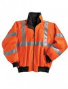 Tri-Mountain 8830 District Poly ANSI Compliant Safety Jacket with reflective tape