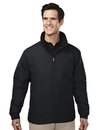 Tri-Mountain 8880 Saga Men's 100% polyester long sleeve jacket with water resistent