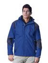 Tri-Mountain 9200 Slalom Men's 100% Nylon Water Resistant Woven Jacket, Full Lined w/ Hood