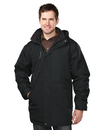 Tri-Mountain 9980 Droxford Men's 100% Polyester long sleeve jacket with water resistent