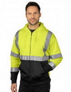 Tri-Mountain F7831 Tract Hoody Class 3 Full-Zip Safety Hoody
