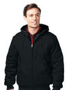 Tri-Mountain J4550 Foreman Men's cotton canvas hooded jacket