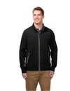 Tri-Mountain J5700 Carlton Men's jacket with 100% nylon w/water repellent 600mm coating